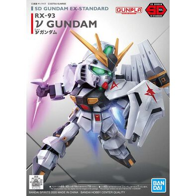 Bandai萬代 塑膠模型 Sd Gundam Ex-規格 016 Nu高達