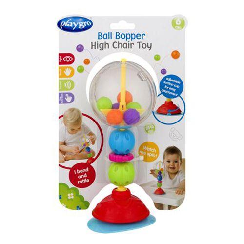 Playgro培高 彩色跳跳球餐椅訓練吸盤玩具