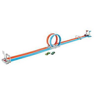 Hot Wheels風火輪 雙軌迴轉比賽套裝