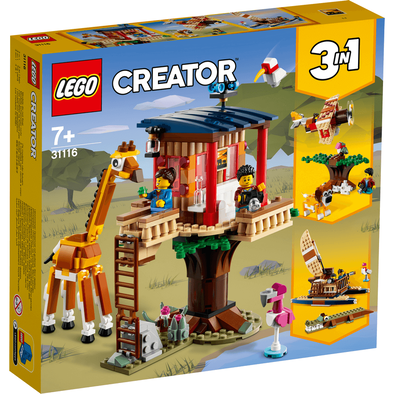 LEGO Creator Safari Wildlife Tree House - 31116