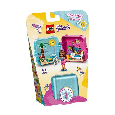 LEGO 樂高好朋友系列 Olivia 渡假遊戲寶盒