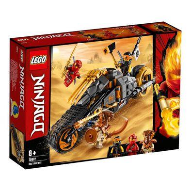 LEGO樂高幻影忍者系列 阿剛cole的越野電單車 70672