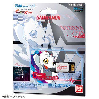 Bandai萬代 Dim Card套裝 -V1- Gammamon