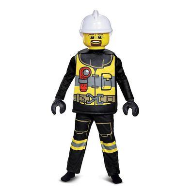 LEGO樂高消防員服裝豪華版 (中碼)