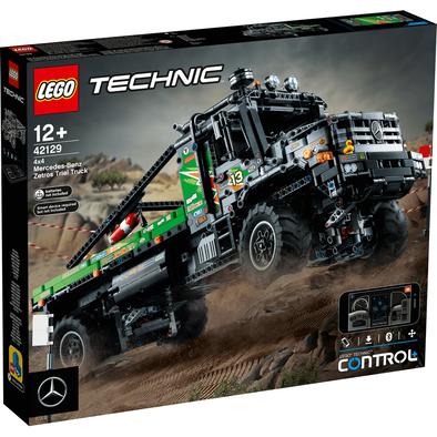 LEGO樂高 4x4 Mercedes-Benz Zetros Trial Truck 42129