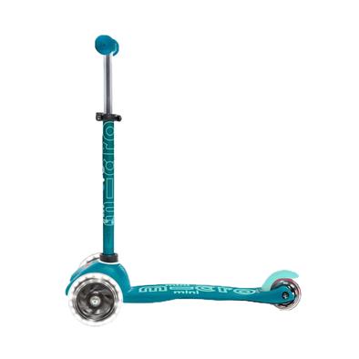 Micro Mobility 【升級閃轆版】 迷你 滑板車 湖藍色