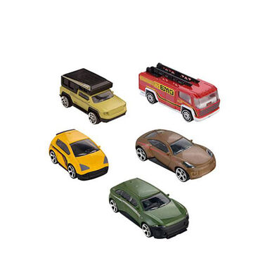 Fast Lane極速快線 5 架合金車 組合 4 盒裝 隨機發貨