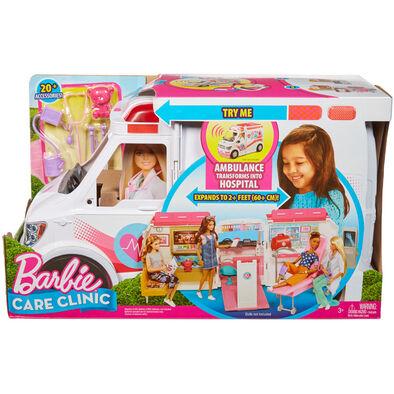 Barbie芭比救護車診所