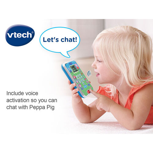 Vtech Peppa Pig Lets Chat Learning Phone