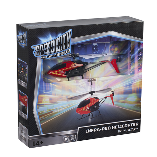 Speed City Infra-Red Helicopter