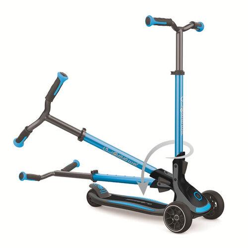 Globber高樂寶 Ultimum 三輪滑板車 (天藍色)
