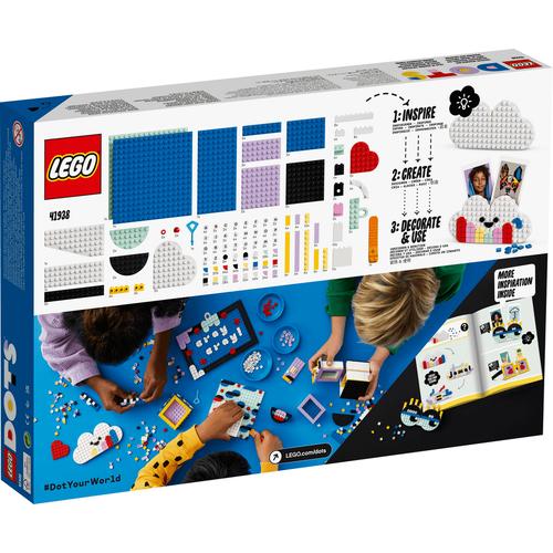 LEGO樂高豆豆系列 設計師手工藝箱 41938