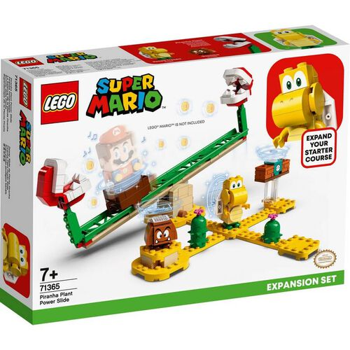 LEGO Super Mario Piranha Plant Power Slide 擴充版圖 71365