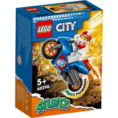 LEGO樂高城市系列 火箭特技機車 60298
