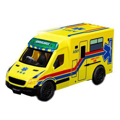 Konsept 1:20 2.4G Rc Hong Kong Ambulance (Yellow)