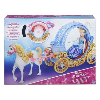 Disney Princess迪士尼公主睡公主變形南瓜車