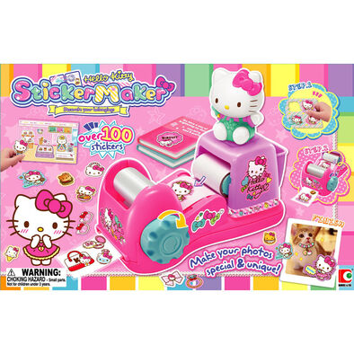 Blue Box Hello Kitty Sticker Maker