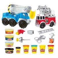 Play-Doh培樂多 車輪系列城市之車 2 件裝組合