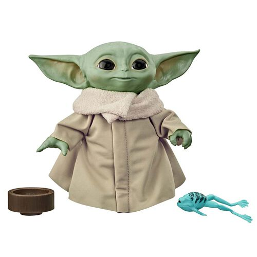 Star Wars星球大戰 Child 電子發聲毛公仔