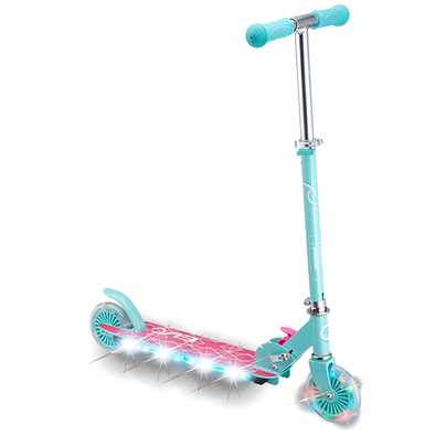 Evo Light Up Scooter- Teal & Pink