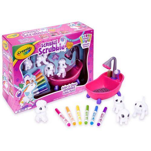Crayola繪兒樂 繪兒樂百變彩繪毛小孩 浴盤套裝