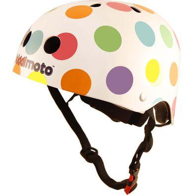 Kiddimoto Kids Helmet Pastel Dotty (M)