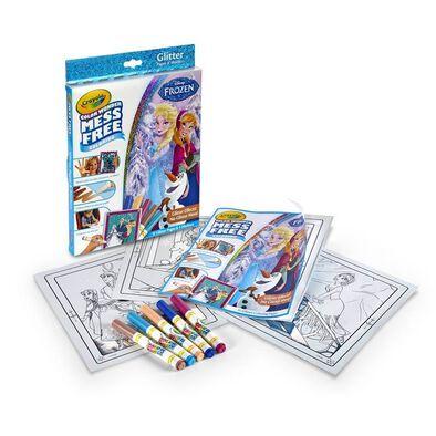 Crayola繪兒樂 Disney Frozen迪士尼魔雪奇緣 閃光盒套裝