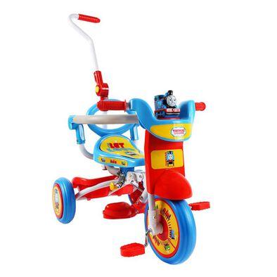 Baby Star湯瑪士小火車推控前衛摺合三輪車