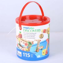 Universe Of Imagination 115Pc Construction Bucket