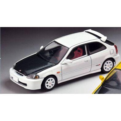 Tomica多美 車仔 Tomytec Civic Type R (White) 97 Model Custom Version