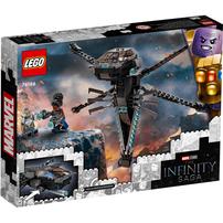 LEGO樂高漫威超級英雄系列 Black Panther Dragon Flyer 76186
