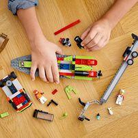 LEGO樂高城市系列 賽艇運輸車 60254