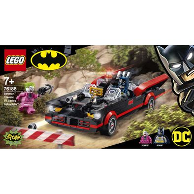 LEGO樂高 DC超級英雄系列Batman Classic TV Series Batmobile 76188