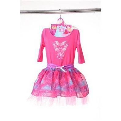 Barbie芭比粉紅舞鞋 發光芭蕾舞衣(3-4歲)