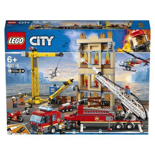 LEGO樂高城市系列城市消防總隊 60216