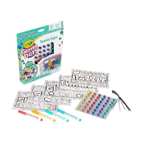 Crayola繪兒樂閃閃填色套裝