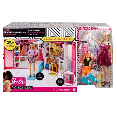 Barbie芭比夢幻衣櫃