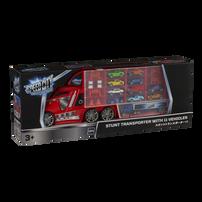 Speed City極速都市  卡車收藏車連11架合金車及配件