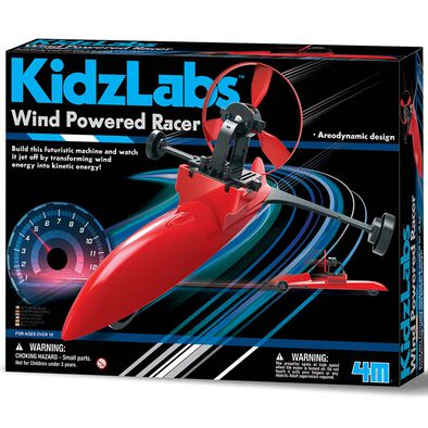 4M Kidzlabs Wind Powered Racer