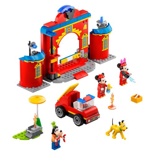 LEGO樂高迪士尼系列 Mickey & Friends Fire Truck & Station 10776