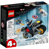 LEGO樂高漫威超級英雄系列 Captain America and Hydra Face-Off 76189