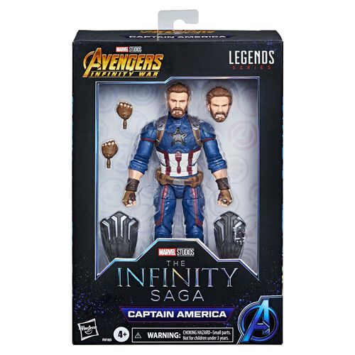 "Marvel漫威 Legends Series 6"" 人物模型美國隊長Infinity Saga"