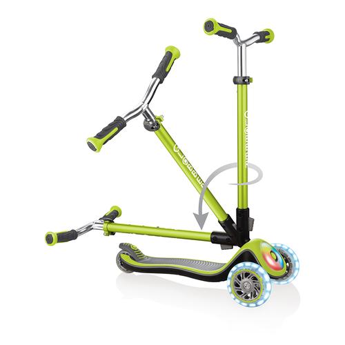 Globber高樂寶兒童三輪滑板車-閃光升級款