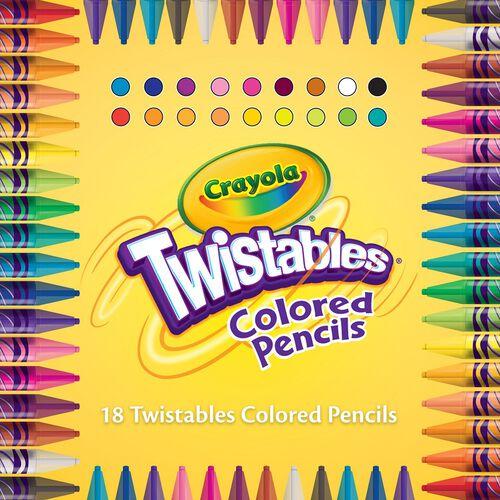 Crayola繪兒樂 30支可轉彩色鉛筆