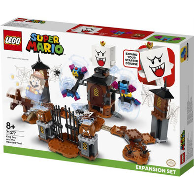 LEGO Super Mario King Boo And The Haunted Yard Expansion Set 71377