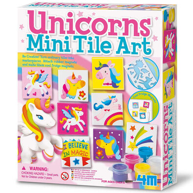 4M Unicorn Tile Art