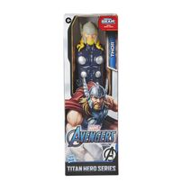 """Marvel Avengers漫威復仇者聯盟泰坦英雄系列 12""""超級英雄動作玩偶,附泰坦英雄力量 Fx 連接孔 - 隨機發貨"""