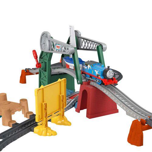 Thomas and Friends GWX09 Lift Thomas & Skiff