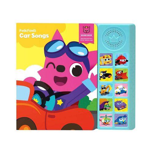 Pinkfong碰碰狐 - 砵砵車唱歌發聲圖書