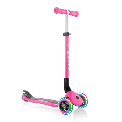 Globber高樂寶 折疊滑板車 (粉色)